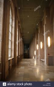 the long corridor with a high ceiling in the alte pinakothek