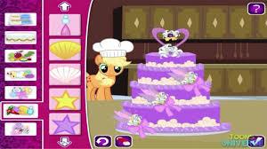 my little pony a canterlot wedding applejack u0027s cake rarity u0027s
