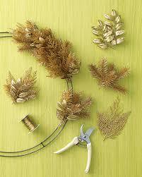 how to make a halloween wreath how to make a wreath martha stewart