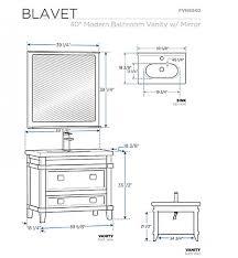 standard bathroom sink dimensions u2013 home design and decorating