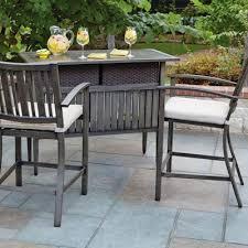 Patio Bar Tables Wonderful Outdoor Patio Bar Furniture Sets Regarding Prepare 16