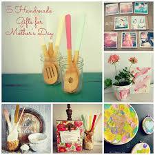 Homemade Gifts For Mom by Five Handmade Gifts For Mother U0027s Day My Fabuless Life