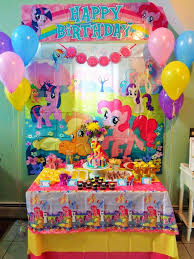 my pony centerpieces giggle bean my pony party ideas