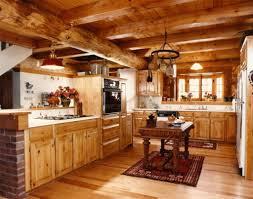 decorating a log home