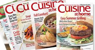cuisine at home my absolute favorite cooking magazine cooking