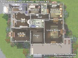 sims 3 house plans mansion blueprints