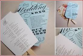 Hand Fan Wedding Programs Diy Program Fans Ribbon Or No Weddingbee