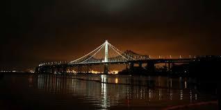 Bay Bridge Light Show San Francisco Bay Loop Visit California