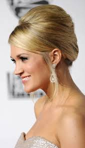 carrie underwood classic updo hairstyle hair u0026 beauty tips