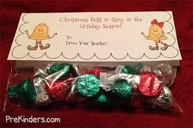 christmas goody bags christmas treat bag toppers prekinders