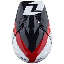 lightweight motocross helmet one industries mx gear atom bolt black red motocross dirt bike