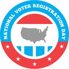 events national voter registration day