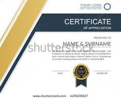 certificate template certificate template with luxury and modern