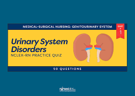 urinary system disorders nclex rn practice quiz 1 50 questions