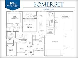 somerset floor plan rambler new home design nilson homes