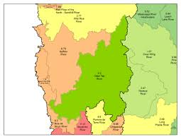 Chippewa National Forest Map Otter Tail River Watershed Minnesota Nutrient Data Portal