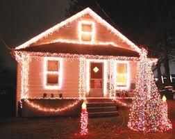 musical christmas lights lights lincoln musical christmas light display in struthers