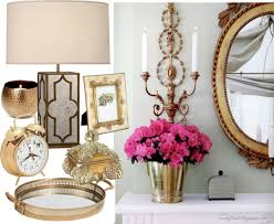interior accessories for home interior home decor trends brass accents accessories how to add