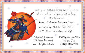 halloween birthday party invitation oxsvitation com