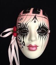 mardi gras ceramic masks ceramic venetian mardi gras resin decorative masks ebay