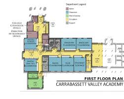 Floor Layouts Support Cva New Campus Campaign Academic Center Floor Plans
