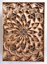discover wooden works of astonishing precision made using laser