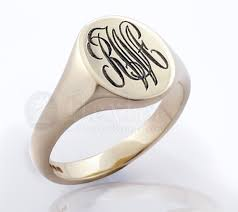 monogramed rings monogram rings