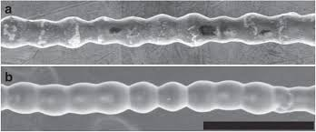 formation of printable granular and colloidal chains through