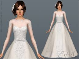 wedding dress donation beo creations wedding dress 28 by beo donation sims 3 downloads