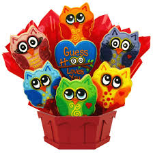 cookie bouquet birthday owl cookie bouquet owl cookies cookies by design