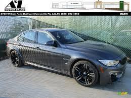 Bmw M3 All Black - 2016 mineral grey metallic bmw m3 sedan 109147349 gtcarlot com