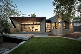 angular roof design shaping a stylish family home freshome com