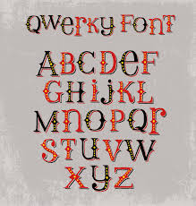 vintage quirky hand drawn font with mixed upper and lower case