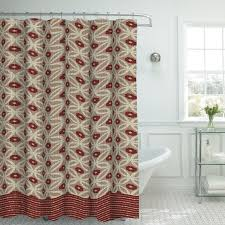 Bathroom Window And Shower Curtain Sets by Bath Studio Oxford Fabric Weave Textured Shower Curtain Set