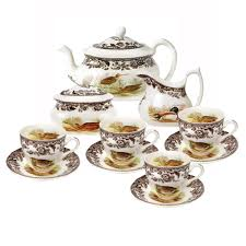 dining spode woodland teaset package with spode thanksgiving and