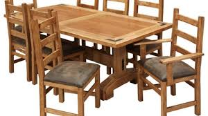 mexican dining table set pine dining room table gregorsnell amazing sets within