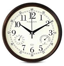 Amazoncom  Inch Silent Wall Clocks Modern Designs With - Modern designer wall clocks