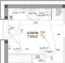 prise 32 a cuisine hauteur plan de travail séduisant hauteur prise cuisine plan de
