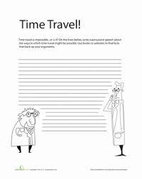 persuasive writing prompt worksheet education com