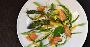 cuisiner salicorne asperges saumon salicornes infusion citronnelle gingembre