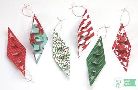 geometric paper ornaments pebbles inc