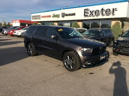 jeep durango 2016 used 2017 dodge durango for sale exeter on
