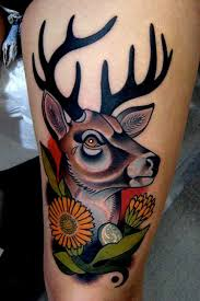 42 abstract animal tattoos