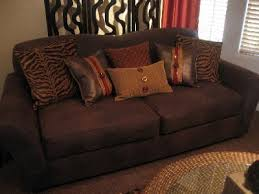 Leather Slipcover For Couch Sure Fit Stretch Leather 2 Piece Sofa Slipcover Brown Walmart Com