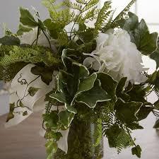 hydrangea centerpiece faux hydrangea centerpiece in decorative vase