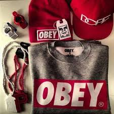 obey clothing sweater obey and grey hat shirt jacket swag dress