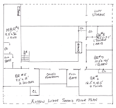 Vacation Home Floor Plans Kossow Lodge Crescent Lake Maine Maine Luxury Vacation Home