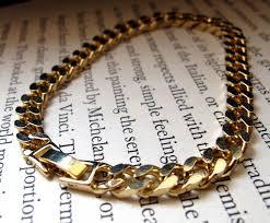 mens clasp bracelet images Mens gold bracelet gold chain bracelet for men with safety clasp JPG