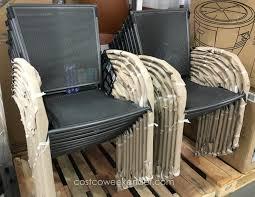 Sunvilla Bistro Chair Sunvilla Micro Mesh Commercial Bistro Chair Costco Weekender