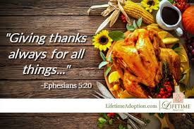thanksgiving blessings from lifetime